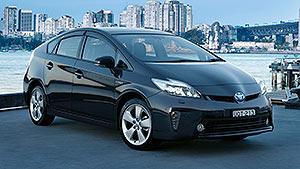 Prius c exterior